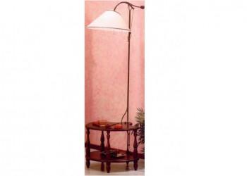 Напольный светильник со столиком 3509