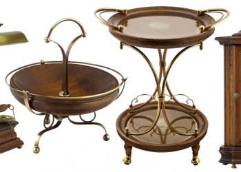 Изысканные предметы интерьера от итальянской компании Capanni.