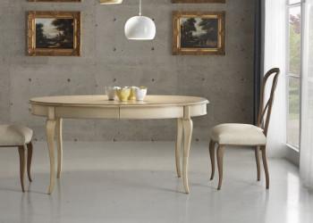 Овальный раскладной стол коллекция Maison Des Fleures