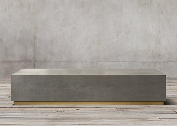 Стол кофейный GRAYDON SHAGREEN PLINTH RECTANGULAR