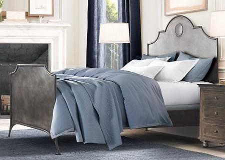 Металлическая кровать 19th C. Keyhole Arch