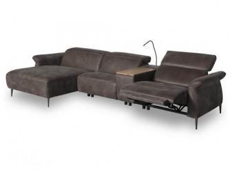 Угловой диван с реклайнером Freesia