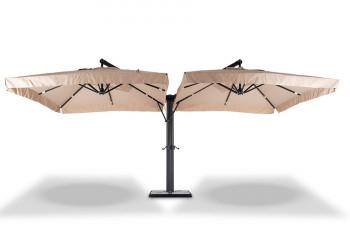 Уличный зонт Рим 2 купола