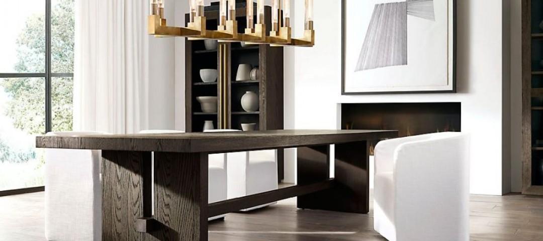 Представляем линейку мебели MODERN американского бренда RESTORATION HARDWARE